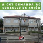 A CNT demanda ao Concello de Avión